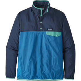 Patagonia Houdini Snap-T Midlayer Men blue